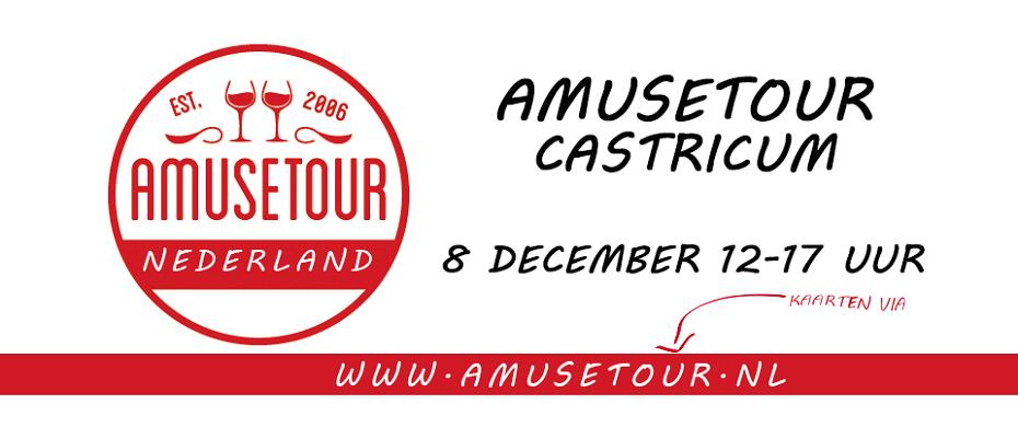 Restaurant 't Eethuysje doet mee aan de Amusetour 8 dec 2019