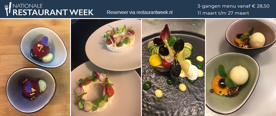 Nationale Restaurantweek maart 2019