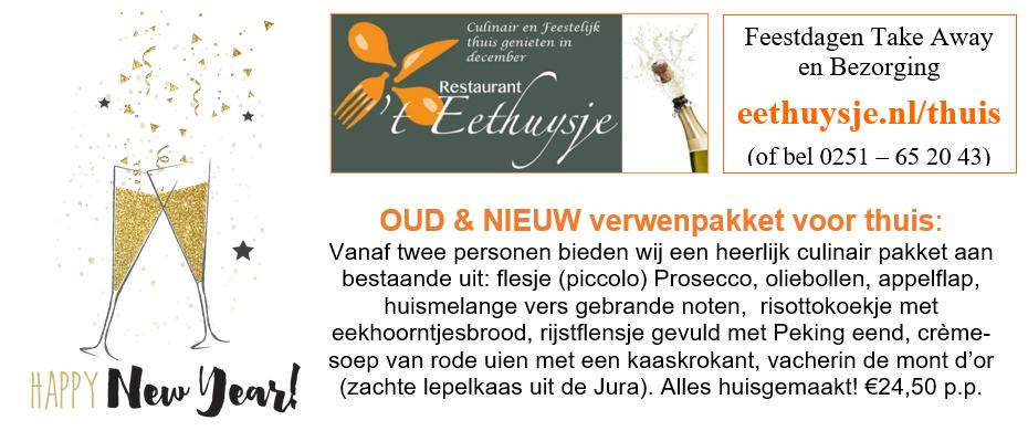 Bestel het Oud&Nieuw pakket via eethuysje.nl/thuis